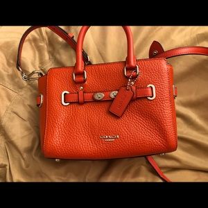 Coach swagger-like cross body shoulder bag